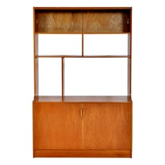 Mid-Century Modern Danish Style Bookcase / Wall Unit / in Teak by S Form, 1960s