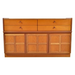 Mid-Century Modern Danish Style Cabinet in Teak by Nathan Furniture, 1960s