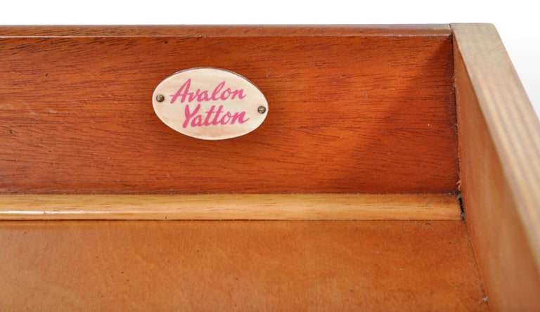 Mid-Century Modern Danish Style Chest of Drawers by Avalon Yatton, 1960s For Sale 2