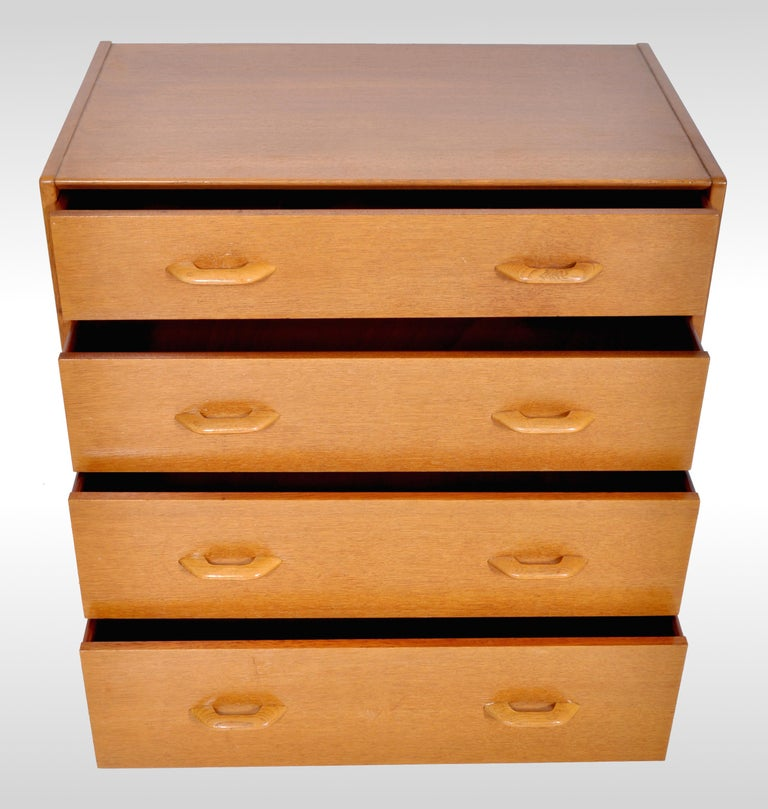 20th Century Mid-Century Modern Danish Style Teak Chest of Drawers / Dresser by G Plan, 1960s For Sale
