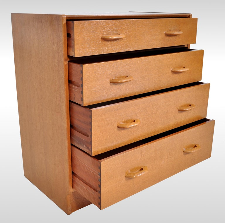 Mid-Century Modern Danish Style Teak Chest of Drawers / Dresser by G Plan, 1960s For Sale 1