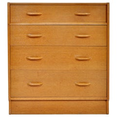 Mid-Century Modern Danish Style Teak Chest of Drawers / Dresser by G Plan, 1960s