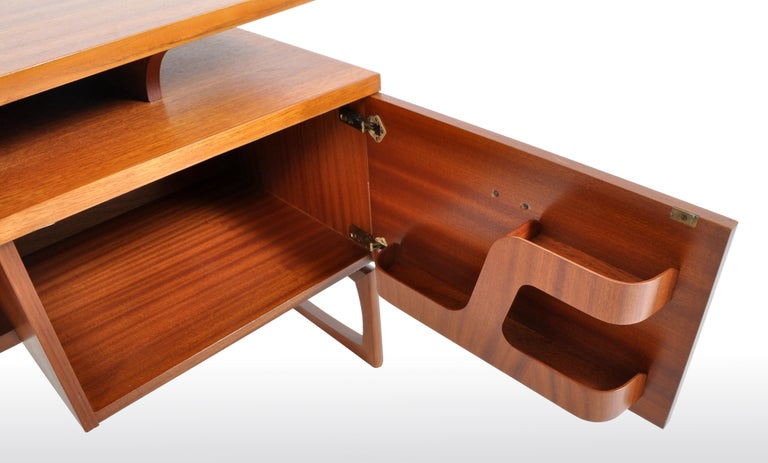 Mid-Century Modern Danish Style Teak Desk by Ib Kofod-Larsen for G Plan, 1960s For Sale 2