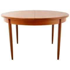 Mid-Century Modern Danish Style Teak Extension Dining Table by G Plan, 1960s
