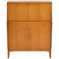 Mid-Century Modern Danish Style Teak Secretary Desk/Cabinet by Lebus Furniture