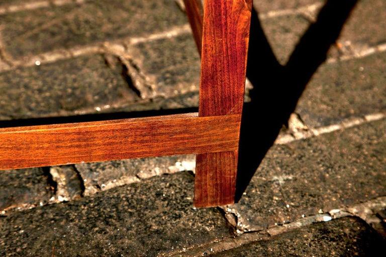 Mid-Century Modern Danish Teak Bench In Good Condition For Sale In Stamford, CT