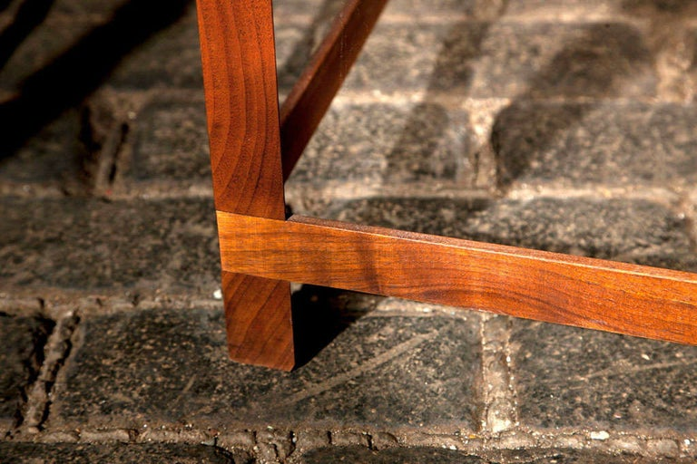 Mid-20th Century Mid-Century Modern Danish Teak Bench For Sale