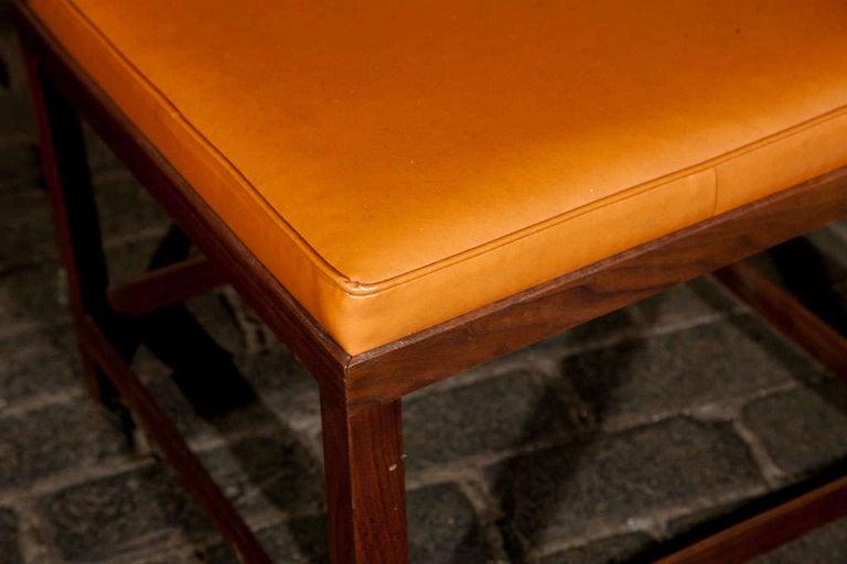 Mid-Century Modern Danish Teak Bench For Sale 1