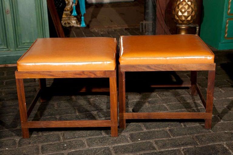 Mid-Century Modern Danish Teak Bench For Sale 2