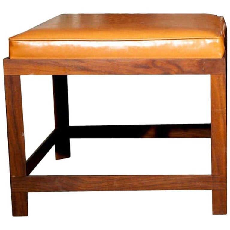 Mid-Century Modern Danish Teak Bench For Sale
