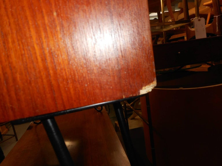 Mid-Century Modern Danish Teak Cabinet with Hairpin Legs For Sale 8