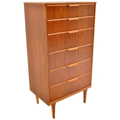 Mid-Century Modern Danish Teak Chest of Drawers / Dresser by Austinsuite, 1960s