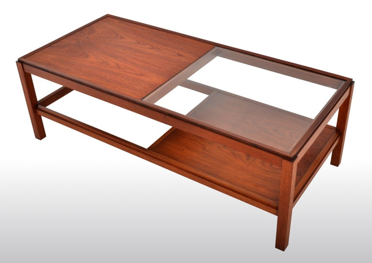 Mid-Century Modern Danish Teak Coffee Table, 1960s For Sale 6