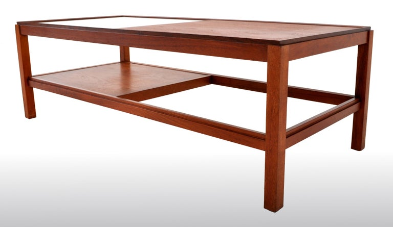 Mid-Century Modern Danish Teak Coffee Table, 1960s For Sale 1