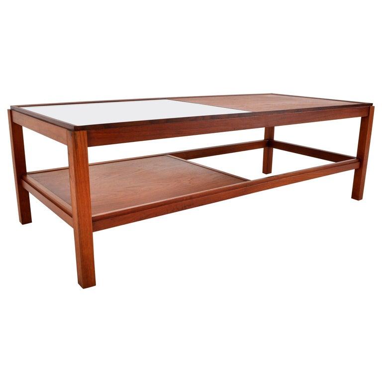 Mid-Century Modern Danish Teak Coffee Table, 1960s For Sale