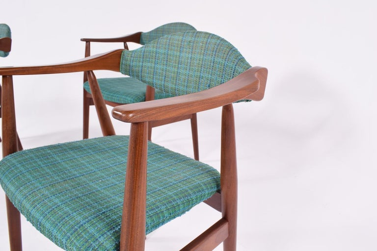 Mid-20th Century Mid-Century Modern Danish Teak Dining Chairs, 1960s For Sale