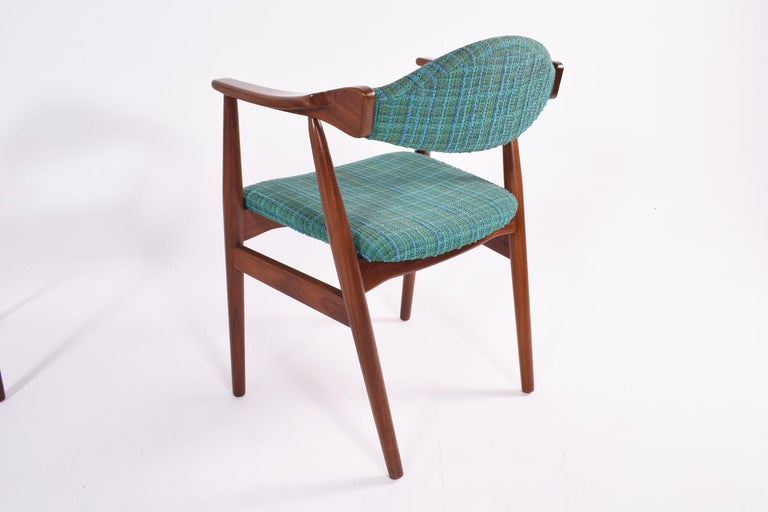 Mid-Century Modern Danish Teak Dining Chairs, 1960s For Sale 3