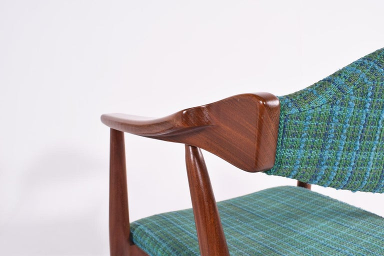 Mid-Century Modern Danish Teak Dining Chairs, 1960s For Sale 4