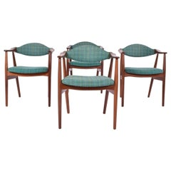 Mid-Century Modern Danish Teak Dining Chairs, 1960s
