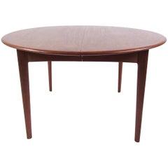 Mid-Century Modern Danish Teak Dining Table
