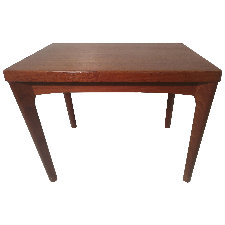 Mid-Century Modern Danish Teak Side or End Table