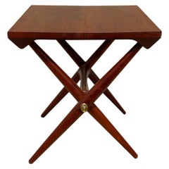 Mid-Century Modern Danish Teak Side Table by Jens Quistgaard
