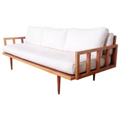 Mid-Century Modern Daybed Sofa, circa 1950s