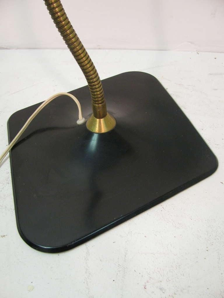 American Mid Century Modern Dazor Desk Lamp C1960 For Sale