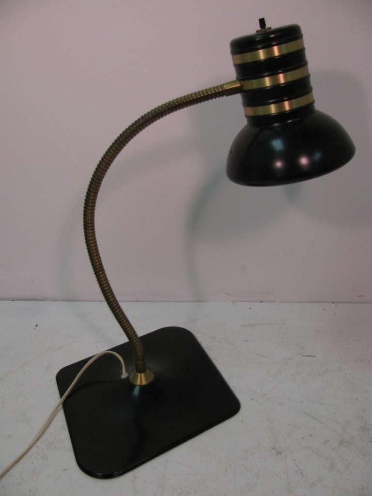Mid-20th Century Mid Century Modern Dazor Desk Lamp C1960 For Sale