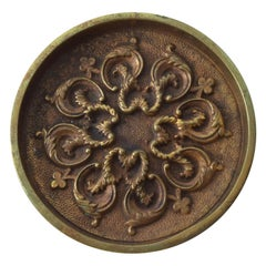 Mid-Century Modern Decorative Bronze Ashtray