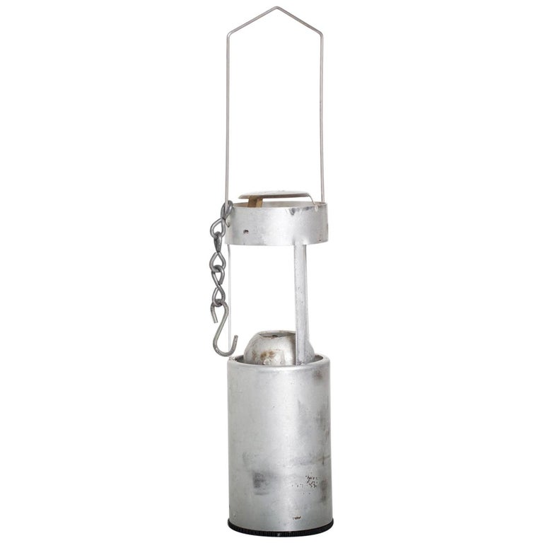 Mid-Century Modern Decorative Hanging Camping Candleholder For Sale