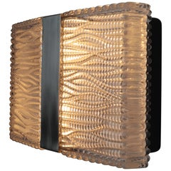 Mid-Century Modern Design Wall Light Designed by Kaiser Leuchten in 1960s