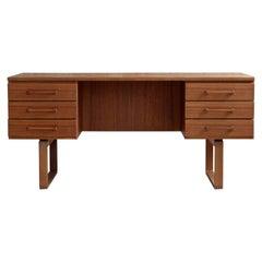 Mid-Century Modern Desk by Henning Jensen & Torbin Valeur, 1960s