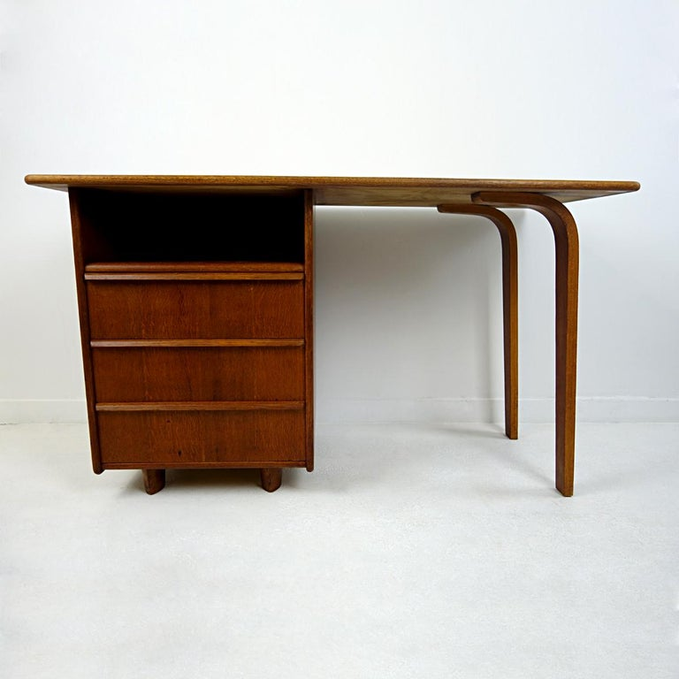 Dutch Mid-Century Modern Desk Designed by Cees Braakman for USM Pastoe For Sale