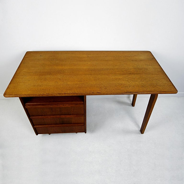 Mid-Century Modern Desk Designed by Cees Braakman for USM Pastoe In Good Condition For Sale In Doornspijk, NL