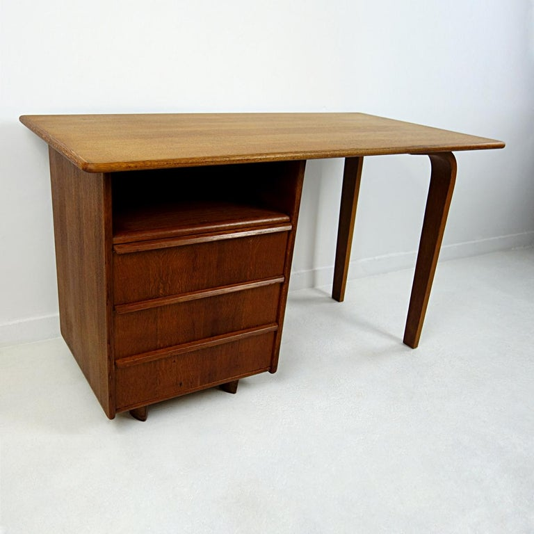 Mid-20th Century Mid-Century Modern Desk Designed by Cees Braakman for USM Pastoe For Sale