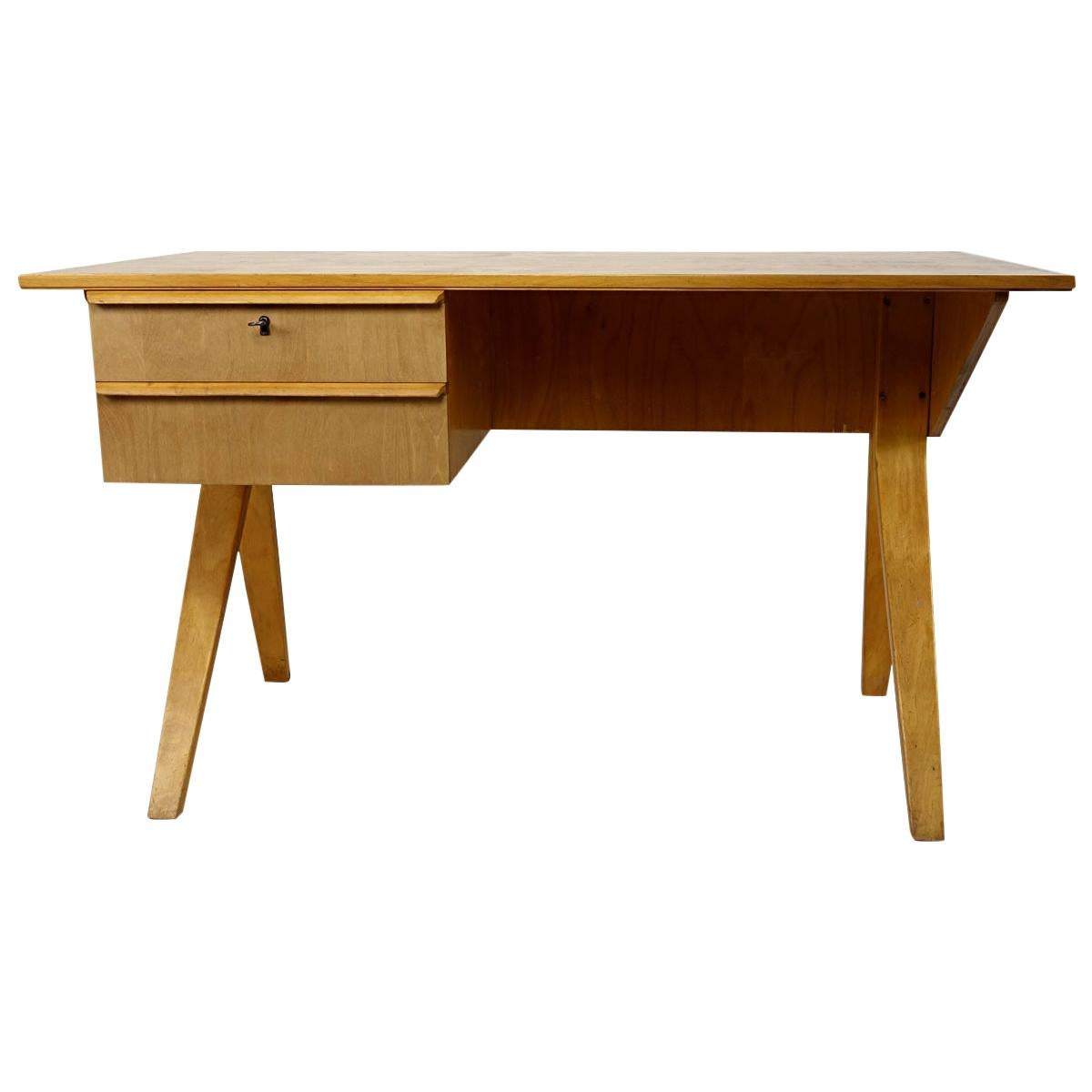 Mid-Century Modern Desk EB02 Designed by Cees Braakman for USM Pastoe