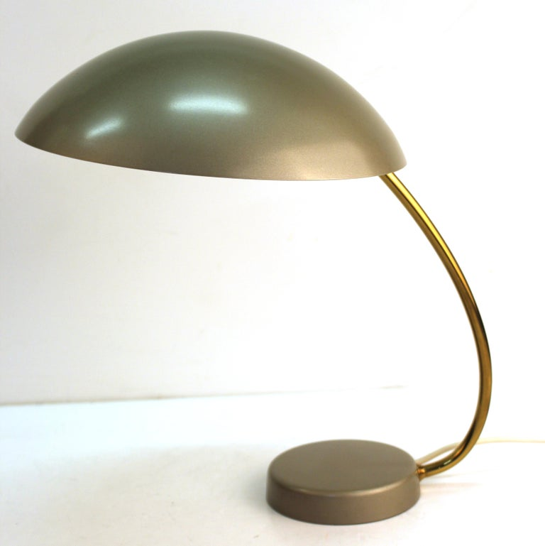 German Mid-Century Modern Desk Lamp For Sale