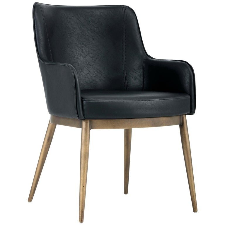 Set of 6, Mid-Century Modern Dining Chairs in Vintage ...