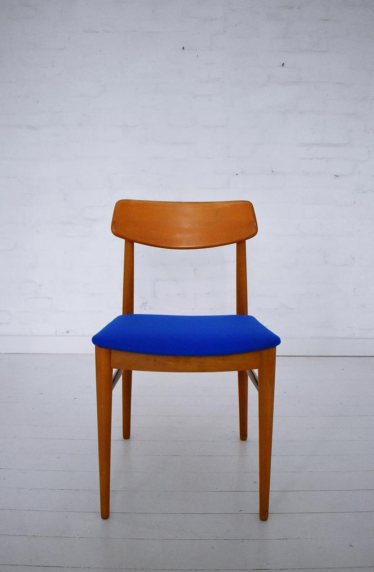 Mid-Century Modern Dining Chairs by Wiesner, Hager, Austria, 1960s For Sale 3