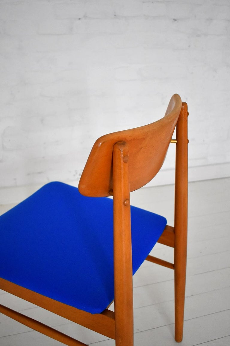 Mid-Century Modern Dining Chairs by Wiesner, Hager, Austria, 1960s For Sale 5