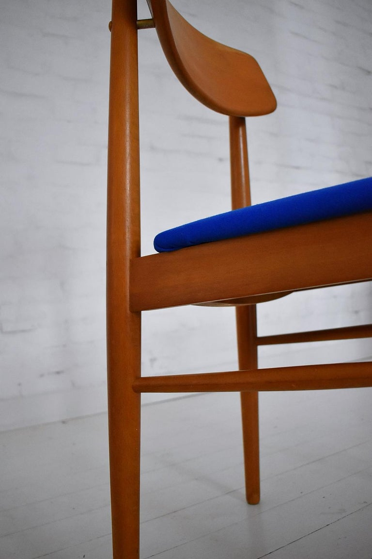 Mid-Century Modern Dining Chairs by Wiesner, Hager, Austria, 1960s For Sale 6
