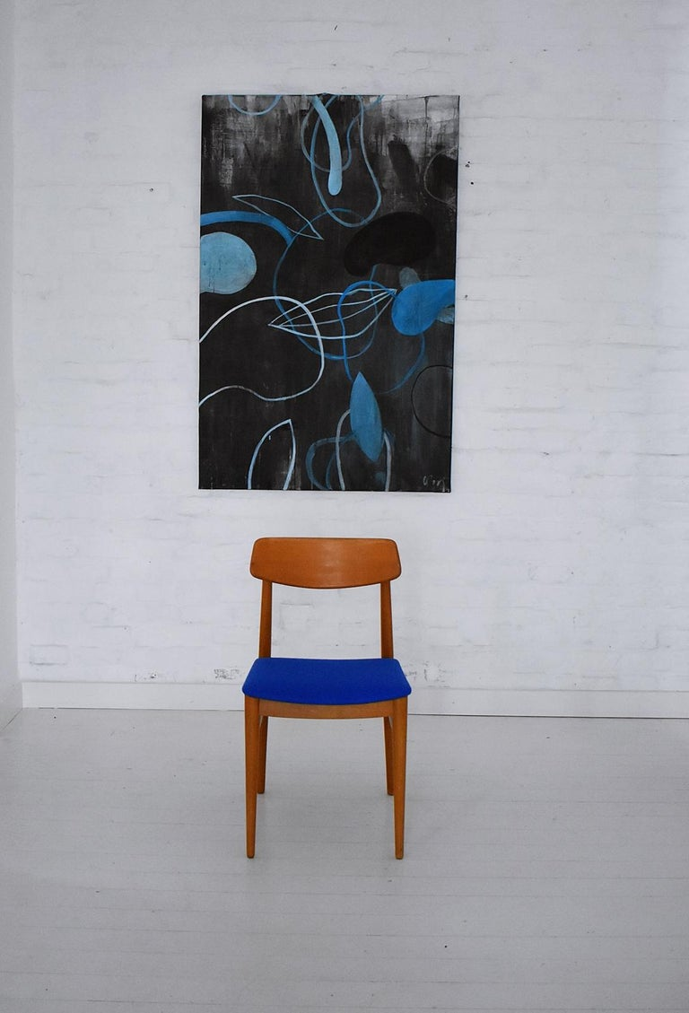 Austrian Mid-Century Modern Dining Chairs by Wiesner, Hager, Austria, 1960s For Sale