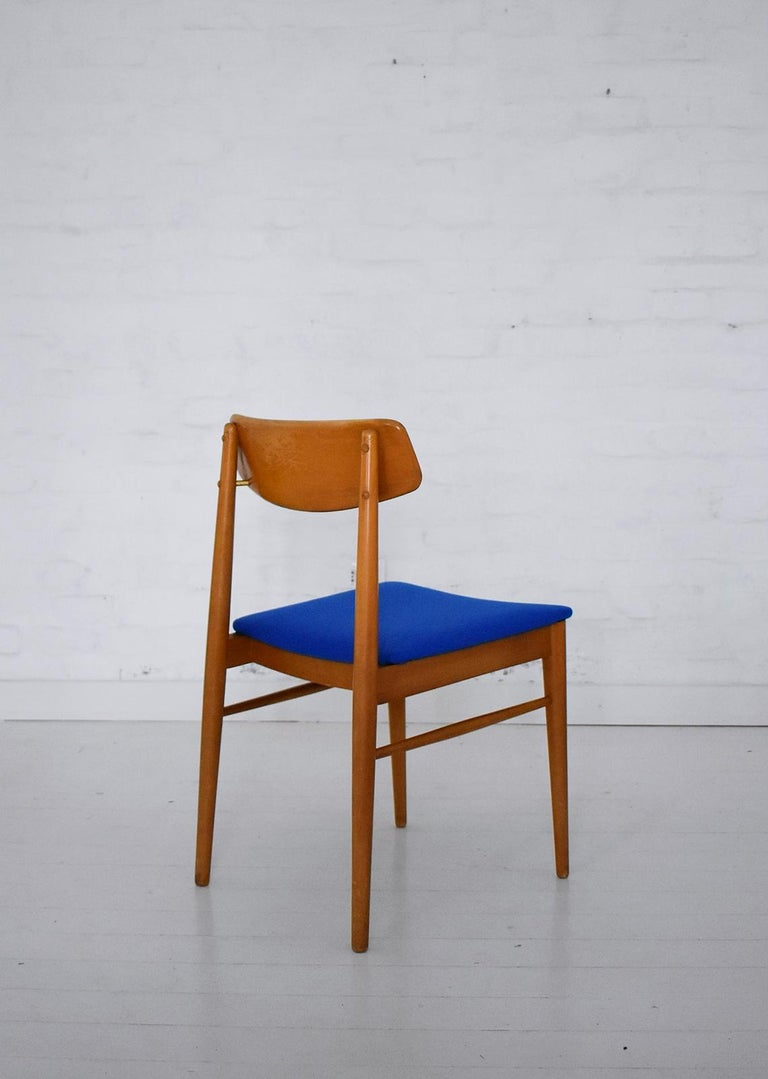 20th Century Mid-Century Modern Dining Chairs by Wiesner, Hager, Austria, 1960s For Sale