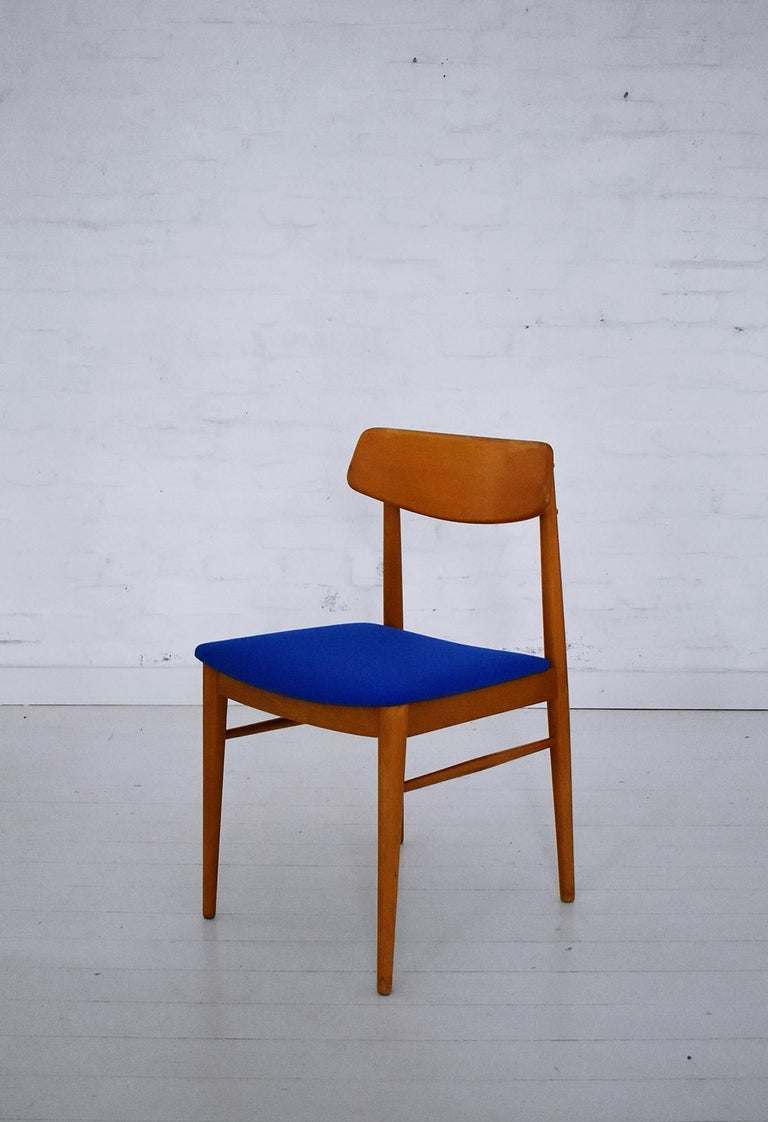Mid-Century Modern Dining Chairs by Wiesner, Hager, Austria, 1960s For Sale 2