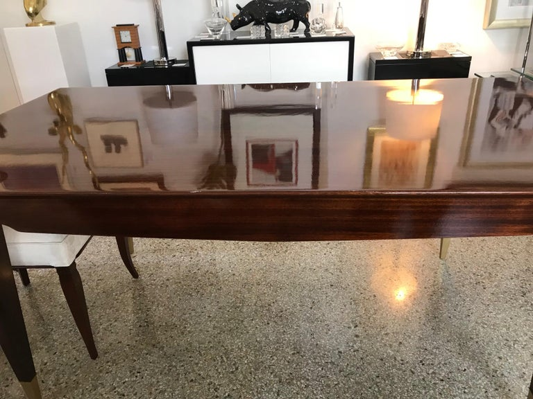 Mid-Century Modern Dining Room Table For Sale 2