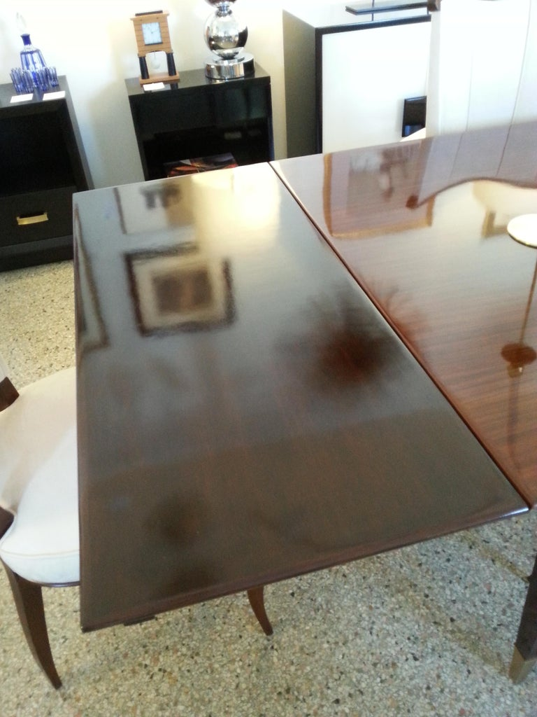 Mid-Century Modern Dining Room Table For Sale 6