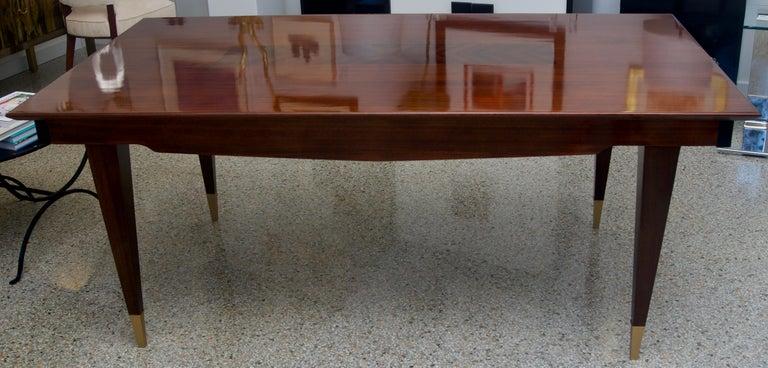 Italian Mid-Century Modern Dining Room Table For Sale