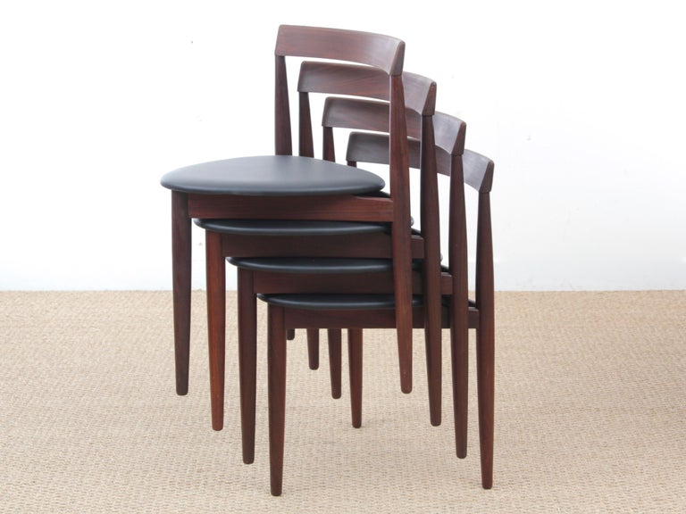 Mid-Century Modern Dining Set by Hans Olsen for Frem Rojle For Sale 8
