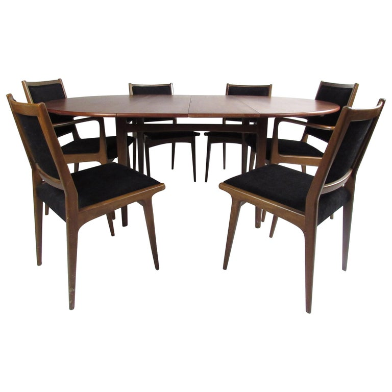 Mid Century Modern Dining Room Set: Mid-Century Modern Dining Set For Sale At 1stdibs